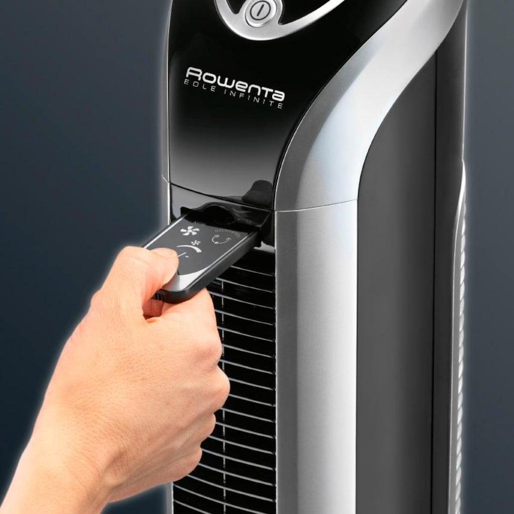 Rowenta Turmventilator »VU 6670 EOLE INFINITE«, Timer, Auto-Modus, Fernbedienung, Auto-Kabelaufwicklung