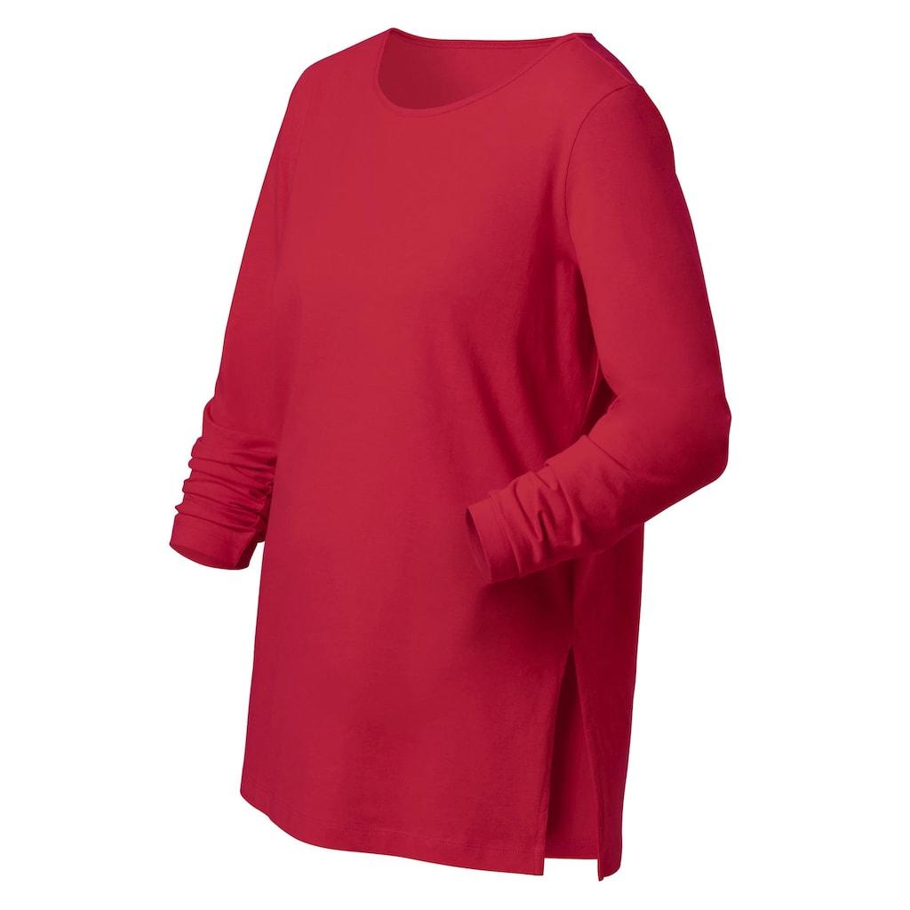 Classic Basics Langarmshirt