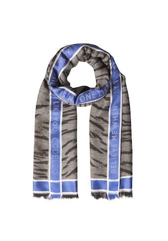 """Codello XL-Schal """"Forever Blue"""" mit Wolle kaufen"""