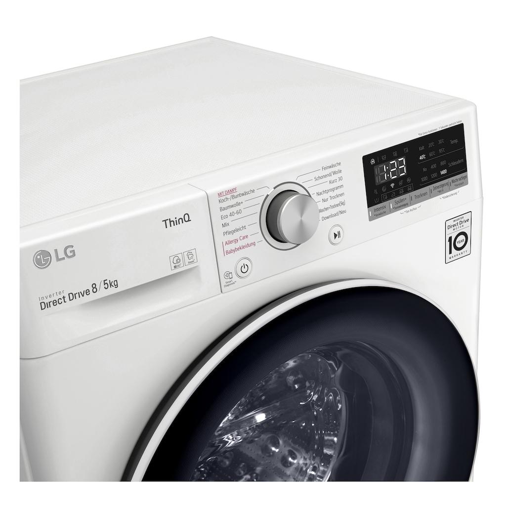 LG Waschtrockner »V4WD85S0«