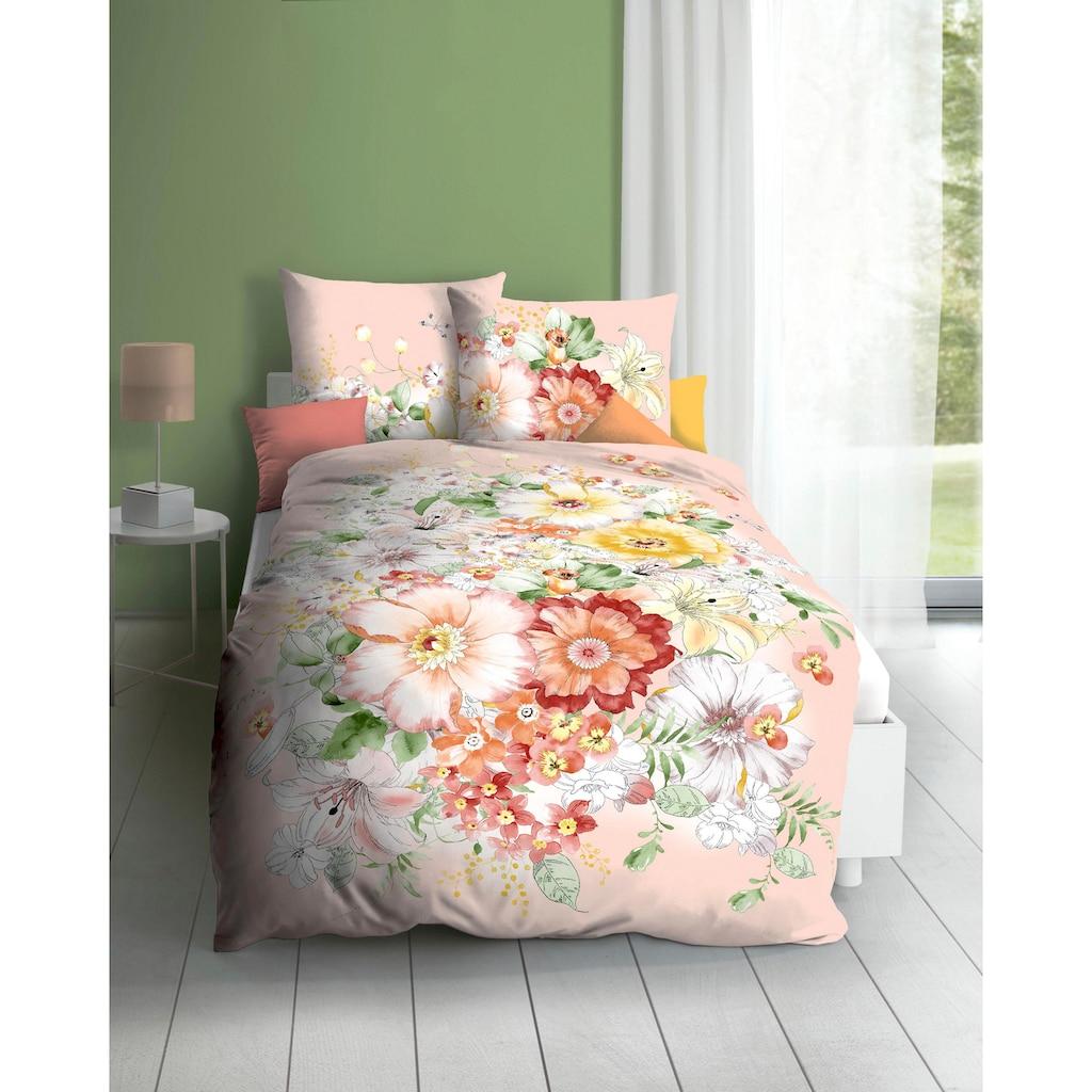 Kaeppel Bettwäsche »Abigail«, mit floralem Dessin