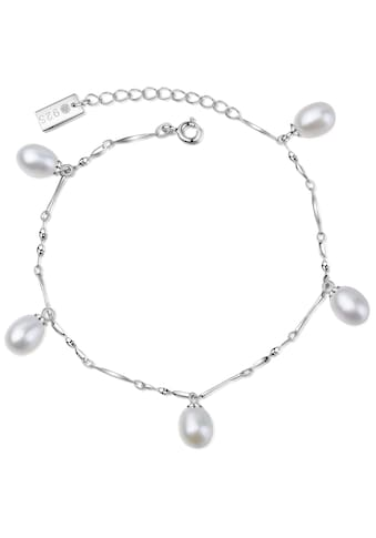 AILORIA Armband »MAIKO Armband Silber/weiße Perle«, Größenverstellbar kaufen