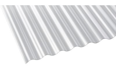 GUTTA Wellplatte Polycarbonat klar, BxL: 90x400 cm kaufen