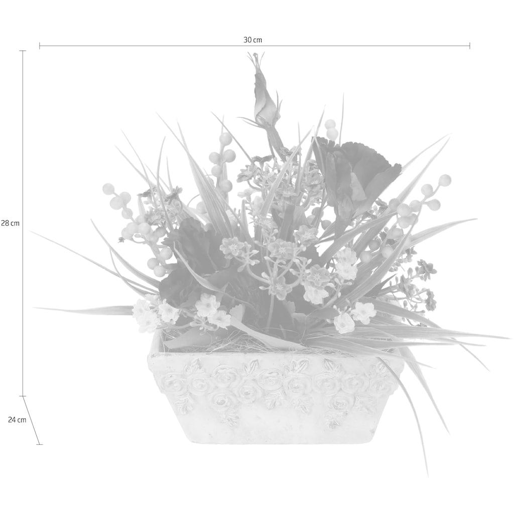I.GE.A. Kunstpflanze, Arrangement in Schale