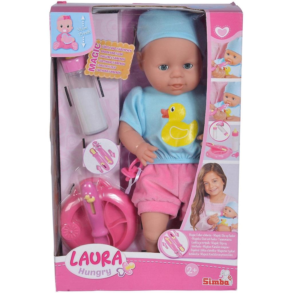 SIMBA Babypuppe »My Love, Laura Hungry«, (4 tlg.)