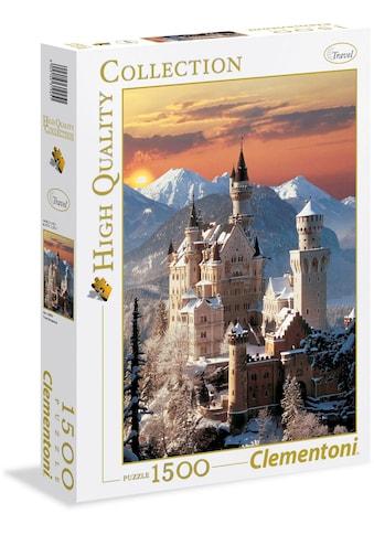 Clementoni® Puzzle »High Quality Collection - Neuschwanstein«, Made in Europe kaufen