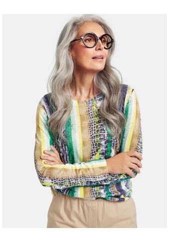 GERRY WEBER Pullover Langarm Rundhals »Pullover aus Leinengarn« kaufen
