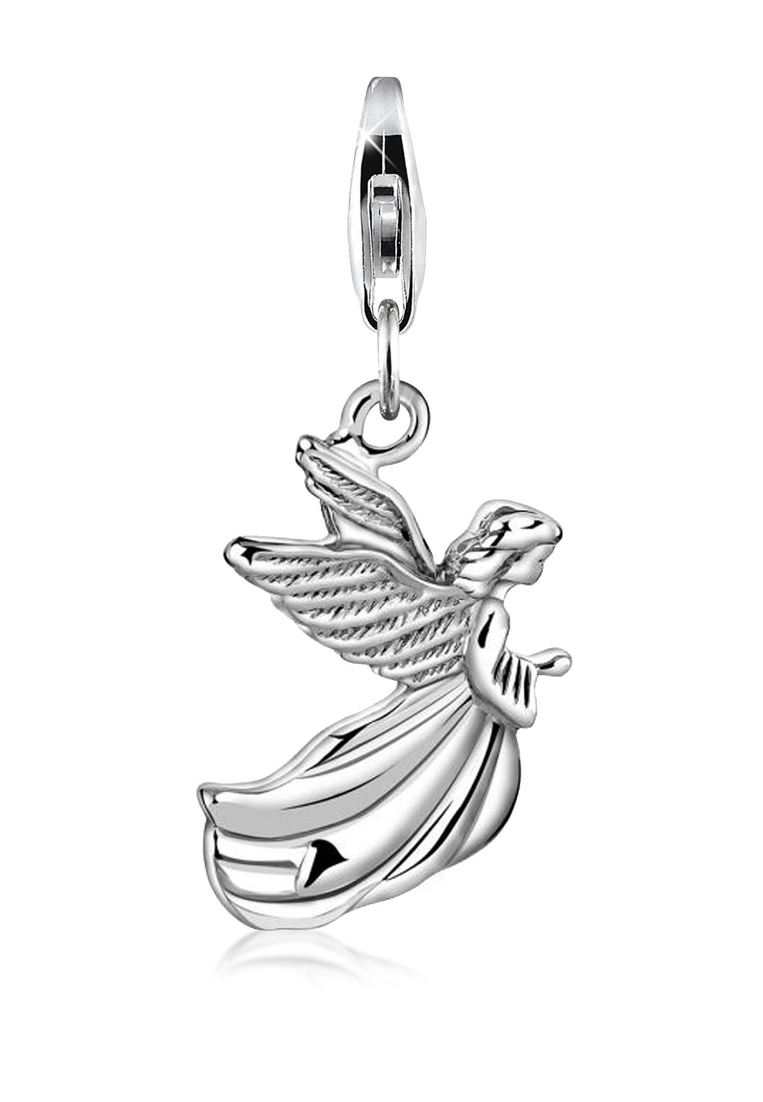 Nenalina Charm-Einhänger »Engel Anhänger Flügel Religion Talisman 925 Silber«