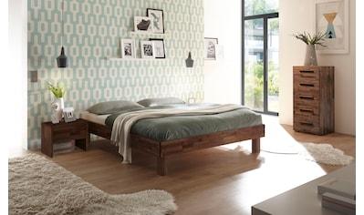 HASENA Massivholzbett »Rapallo«, Fußhöhe 20 cm kaufen