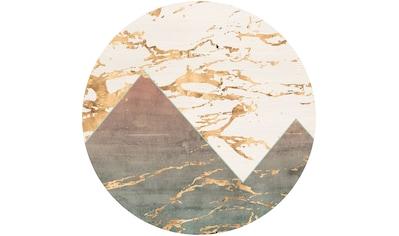 Komar Vliestapete »Precious Peaks«, abstrakt kaufen