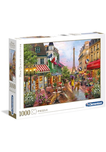 Clementoni® Puzzle »High Quality Collection - Blumen in Paris«, Made in Europe kaufen