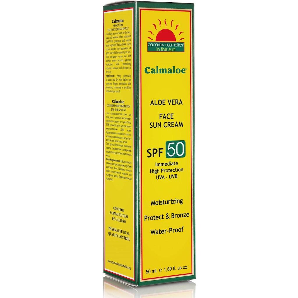 canarias cosmetics Sonnenschutzcreme »Calmaloe Face Sun Cream SPF50«