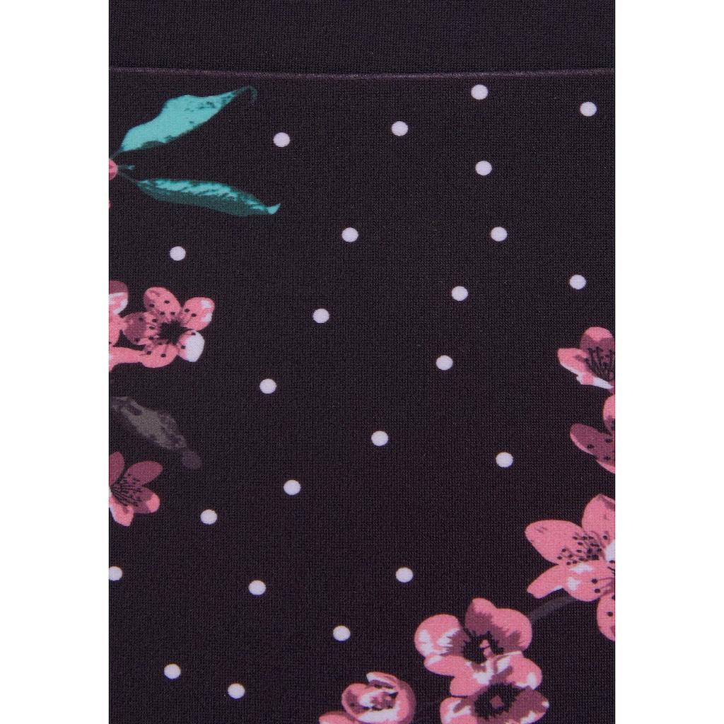 LASCANA Bügel-Bikini, mit geblümtem Print