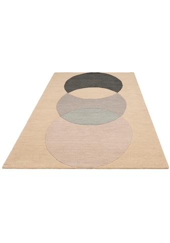 Teppich, »Modern 2«, andas, rechteckig, Höhe 14 mm, handgetuftet kaufen