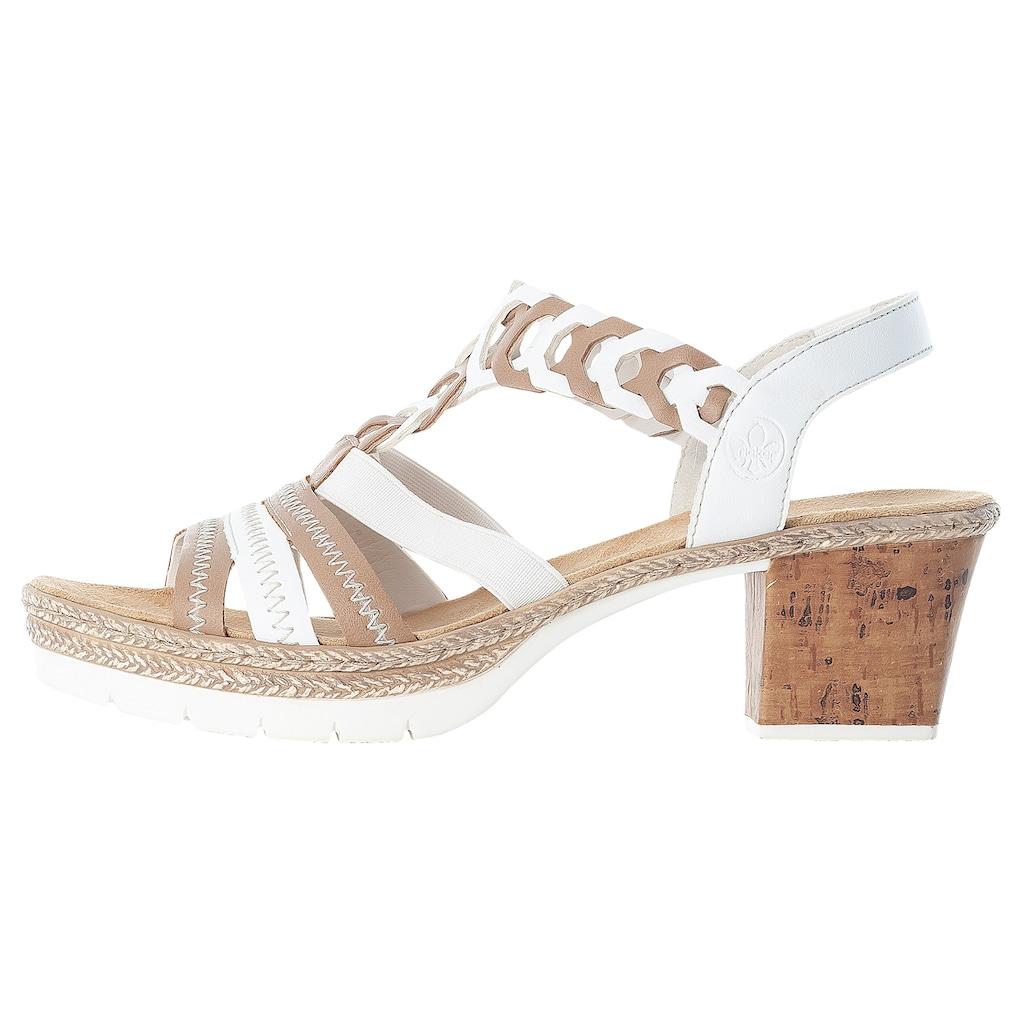 Rieker Sandalette, im sommerlichen Look