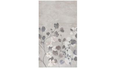 BODENMEISTER Fototapete »Betonwand Blumen grau«, Rolle 2,80x1,59m kaufen