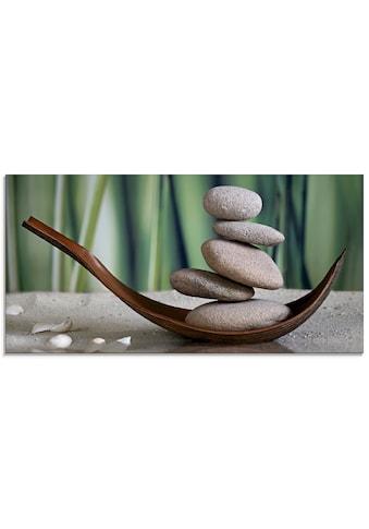 Artland Glasbild »Gleichgewicht«, Zen, (1 St.) kaufen