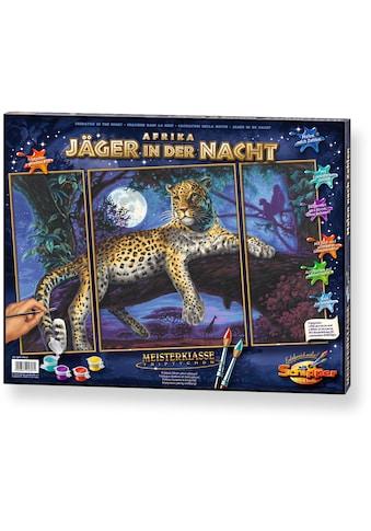 Schipper Malen nach Zahlen »Meisterklasse Triptychon Jäger in der Nacht«, Made in Germany kaufen