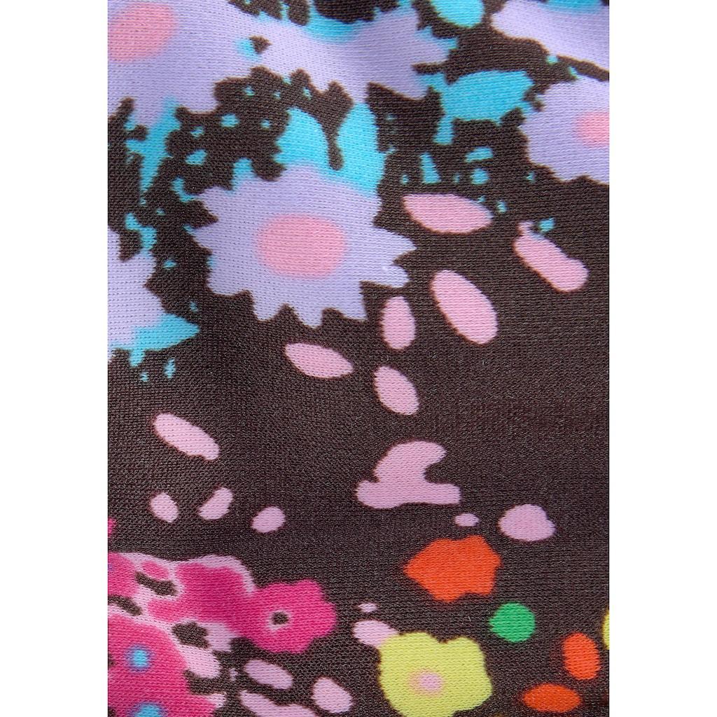 s.Oliver Triangel-Bikini, mit modischem Blütenprint