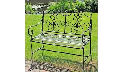 GARDEN PLEASURE Gartenbank »Lanzarote«, Stahl, 105x56 cm kaufen