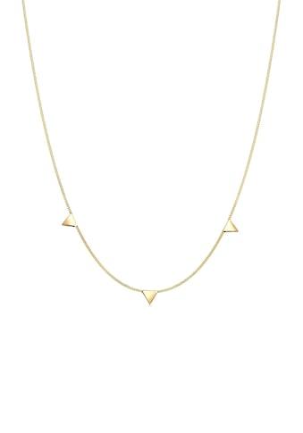 Elli Kette mit Anhänger »mit Dreieck im Geo Design 925 Silber« kaufen