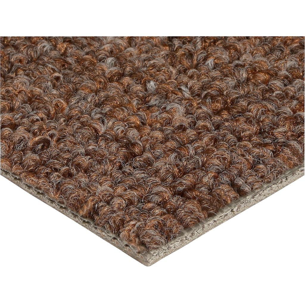 Bodenmeister Teppichboden »Schlinge gemustert«, rechteckig, 6 mm Höhe, Meterware, Breite 400 cm, uni, Wunschmaß