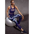 LASCANA ACTIVE Leggings, mit elastischem Bund in V-Form