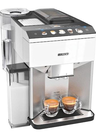 SIEMENS Kaffeevollautomat EQ.500 integral TQ507D02, 1,7l Tank, Scheibenmahlwerk kaufen
