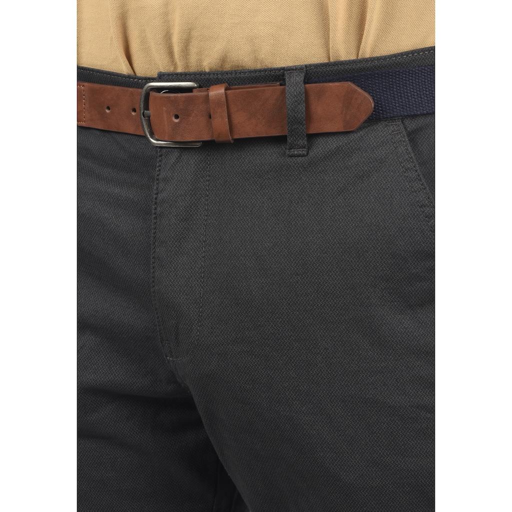 Blend Chinohose »Keaton«, (mit abnehmbarem Gürtel), lange Hose im Chino-Stil mit Gürtel