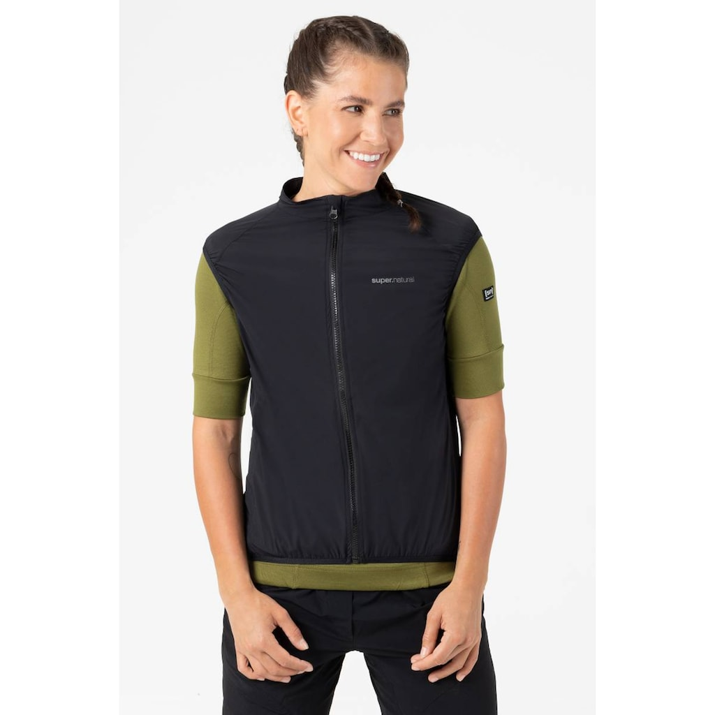 SUPER.NATURAL Funktionsweste »W UNSTOPPABLE GILET«, windabweisend