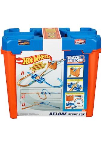 Hot Wheels Autorennbahn »Track Builder Unlimited Mega Stunt Box«, inkl. 2 Spielzeugautos kaufen