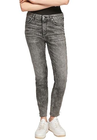 Q/S designed by Skinny-fit-Jeans »Sadie MR ankle«, mit Zipper am Beinabschluss kaufen