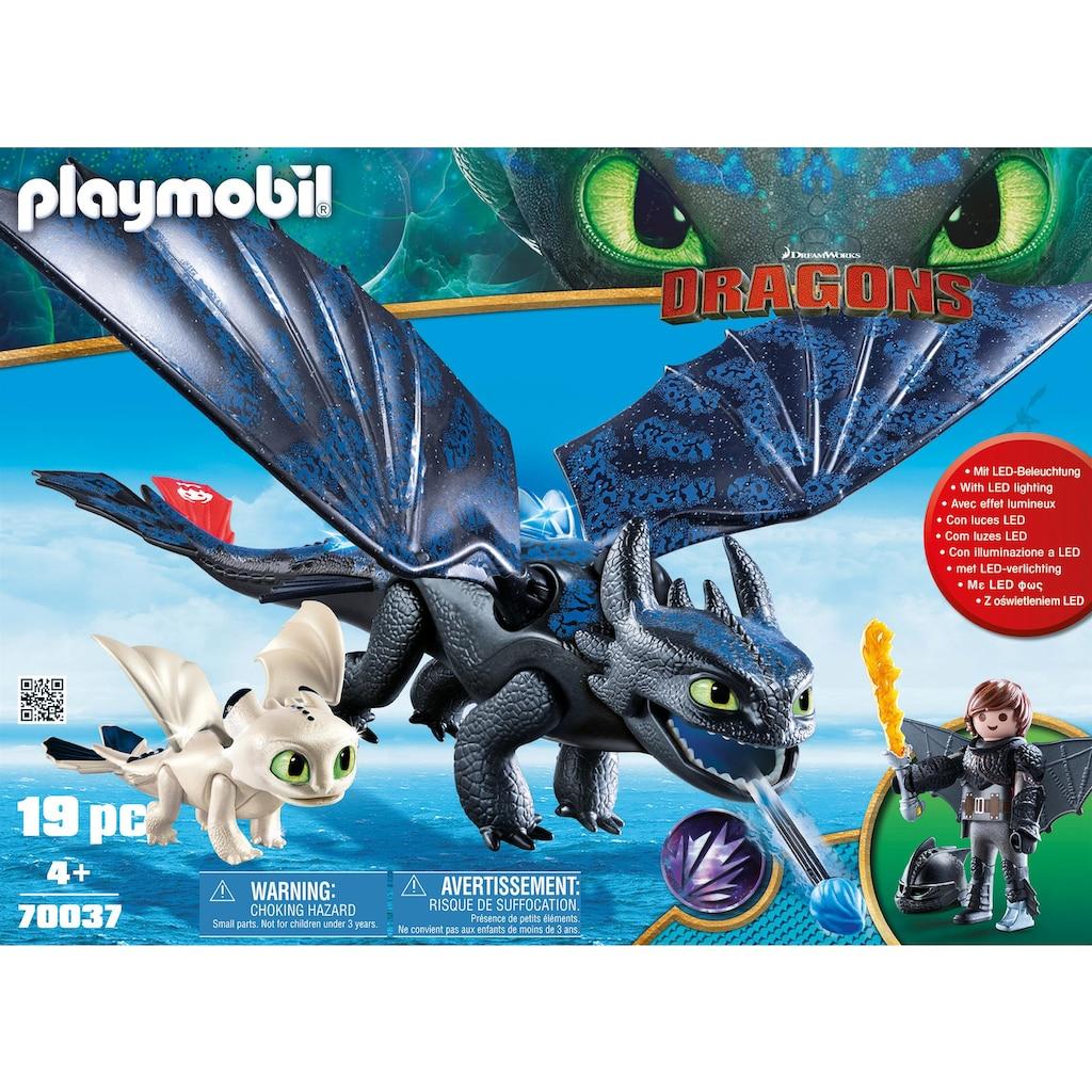 Playmobil® Konstruktions-Spielset »Ohnezahn und Hicks Spielset (70037), Dragons«, (19 St.), Made in Germany