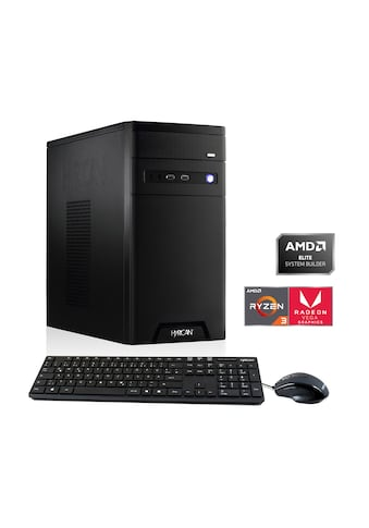 Hyrican PC Ryzen 3 3200G 8GB RAM 1TB 240GB SSD Grafik on board »Home - Office 6433« kaufen