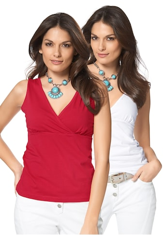 Aniston SELECTED Tanktop, (Packung, 2 tlg., 2er-Pack) kaufen