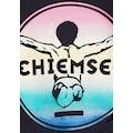 Chiemsee Langarmshirt, mit Glitzerdruck am Ärmel - und Rückendruck