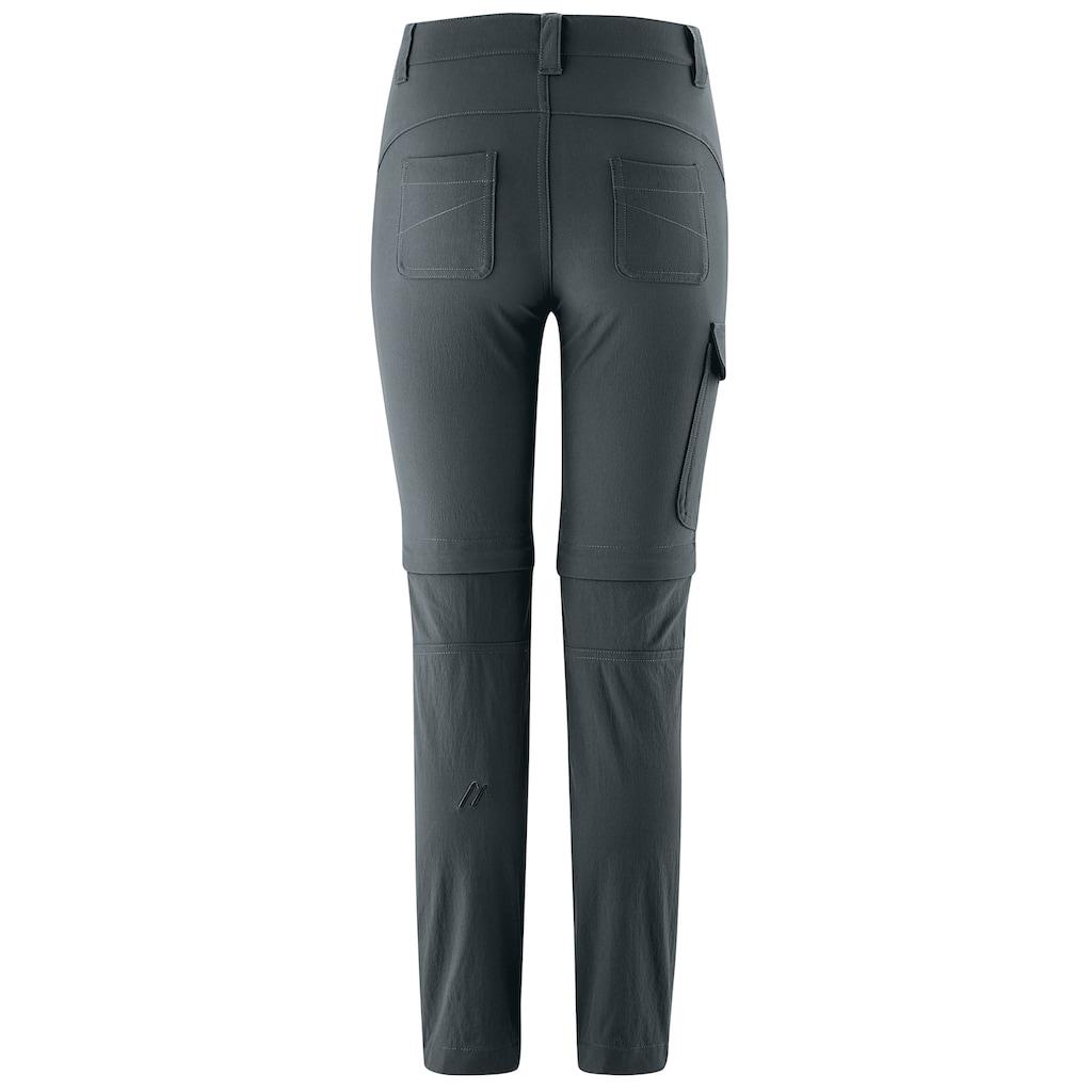 Maier Sports Funktionshose »Lucagrow Zip«, Elastische, mitwachsende Zipp-off-Hose für Jungs