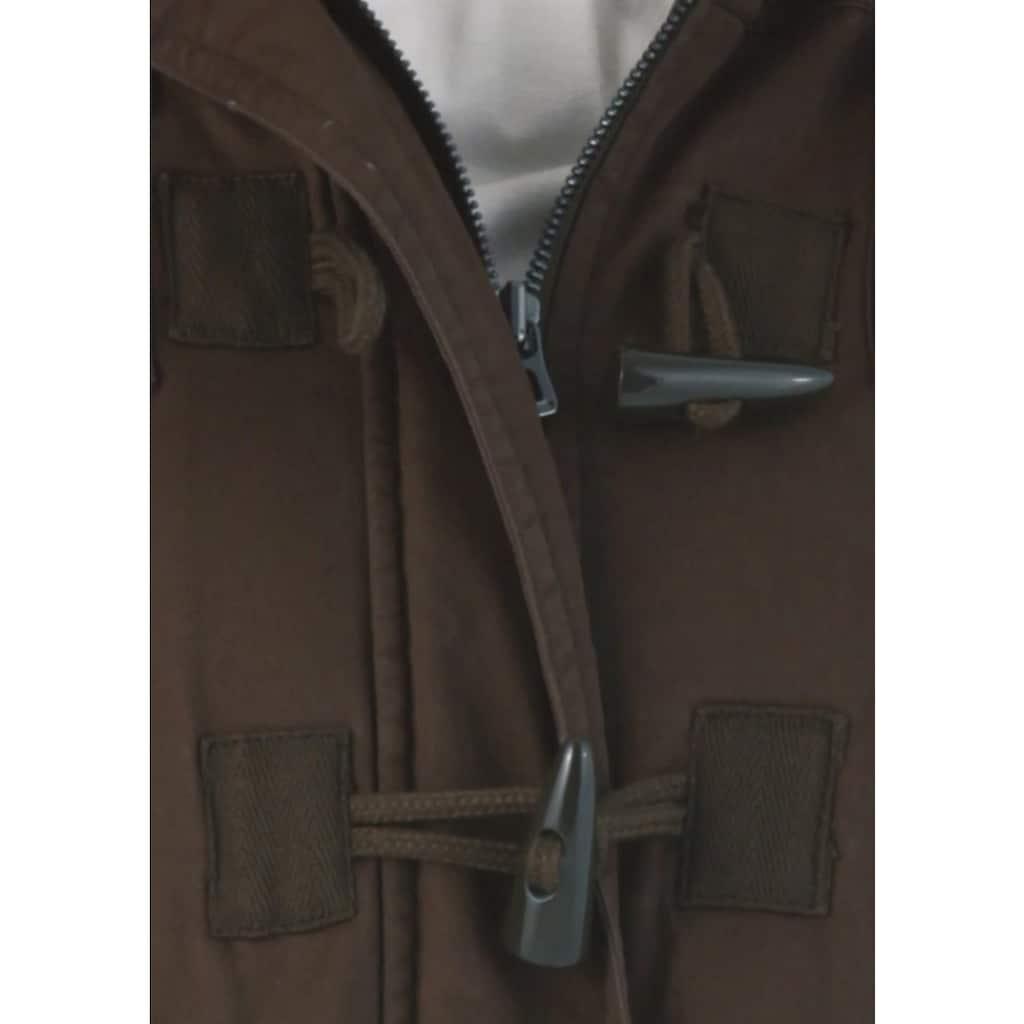 Aniston CASUAL Parka, mit Tunnelzug zum Einstellen der Weite