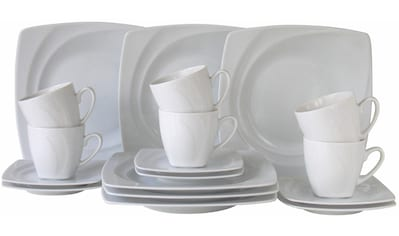 CreaTable Kaffeeservice »Celebration«, (Set, 18 tlg.), spülmaschinenfest kaufen