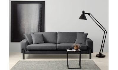 OTTO products 3-Sitzer »Enno«, Bezug im Baumwollmix, mit schwarzem Metallgestell kaufen