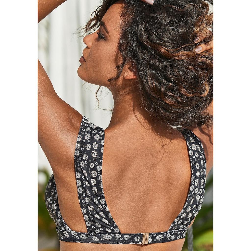 JETTE Triangel-Bikini, zum Binden