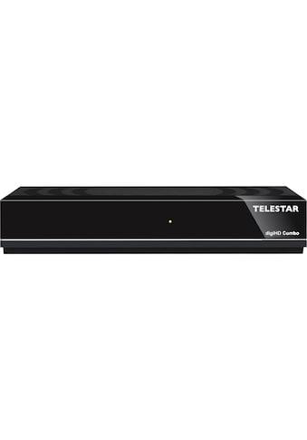 TELESTAR SAT-Receiver »digiHD Combo«, DVB-C/DVB-T2, HDTV, USB, HDMI, Mediaplayer kaufen