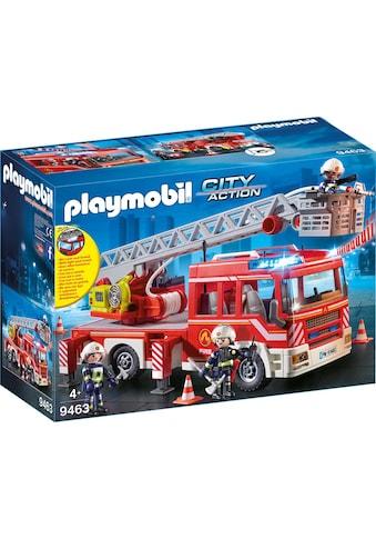 Playmobil® Konstruktions-Spielset »Feuerwehr-Leiterfahrzeug (9463), City Action«, Made... kaufen