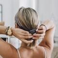 AILORIA Haargummi »DOUX Set Scrunchie S and M«, 100 % Seide
