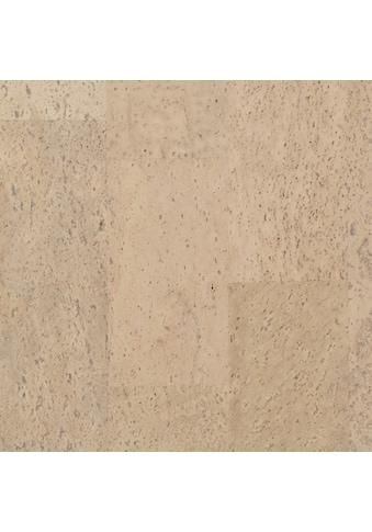 BODENMEISTER Packung: Korkparkett »weiß«, 90 x 30 cm Fliese, Stärke: 10,5 mm kaufen