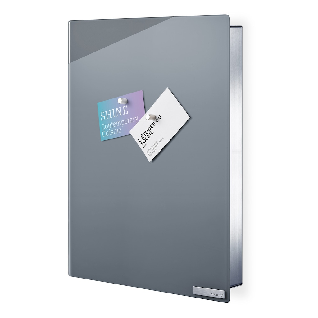 BLOMUS Schlüsselkasten, Glasmagnettafel, Inkl 6 Magnete