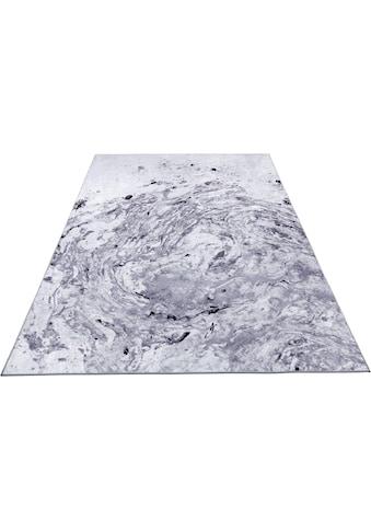 Guido Maria Kretschmer Home&Living Teppich »marble«, rechteckig, 6 mm Höhe, Aquarell-Design, Wohnzimmer kaufen