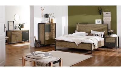 Quadrato Bett »Mirage«, mit Metallschrauben als Dekorationselement, in zwei... kaufen