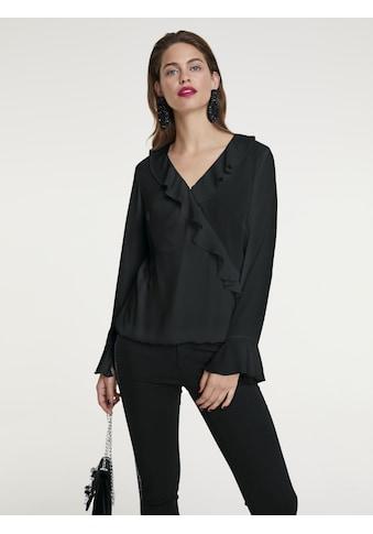 Bluse mit Volants kaufen