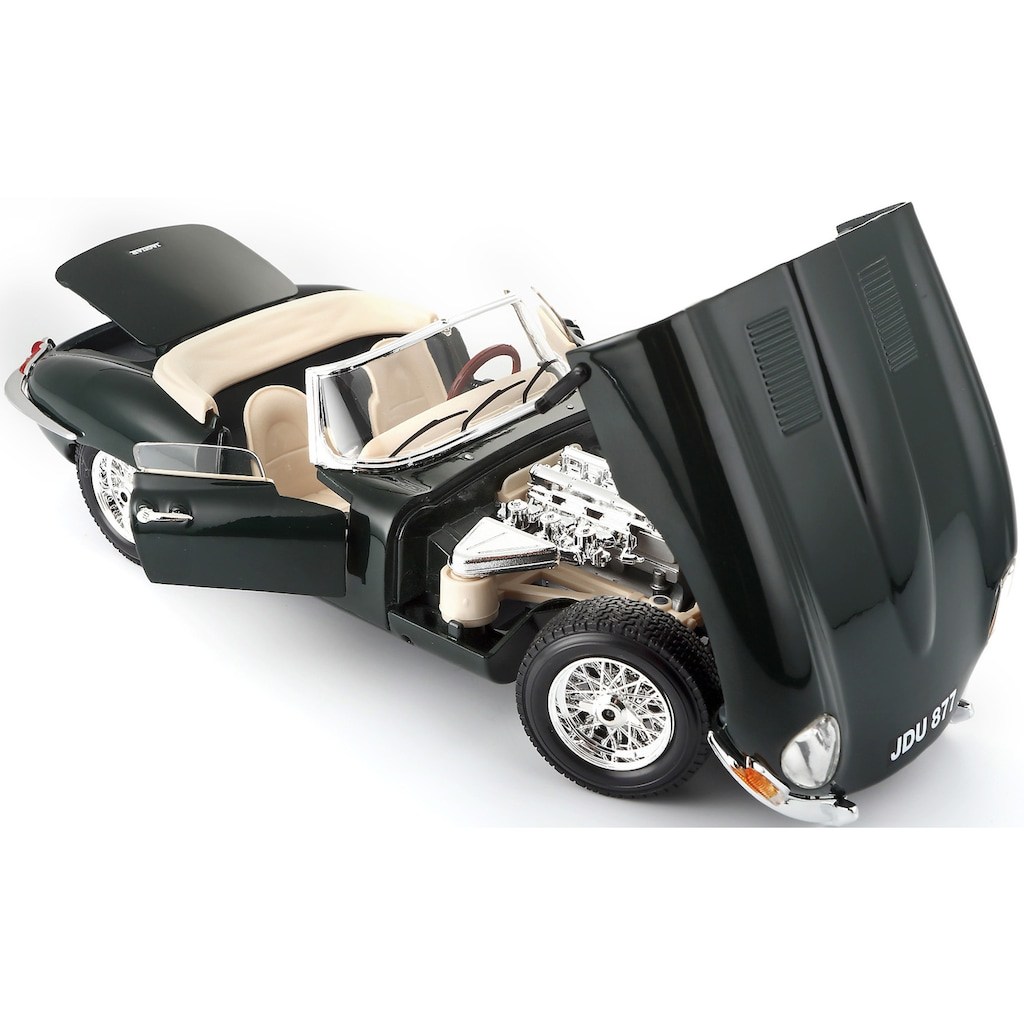 Bburago Sammlerauto »Jaguar E-Type Cabrio (1961)«, 1:18